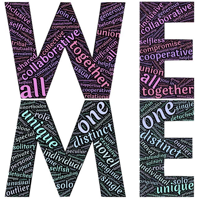 Working together Image by John Hain - Pixabay